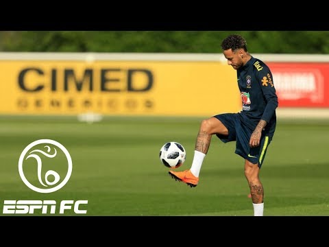 Update from Brazil World Cup preparation: Neymar trains in London | ESPN FC