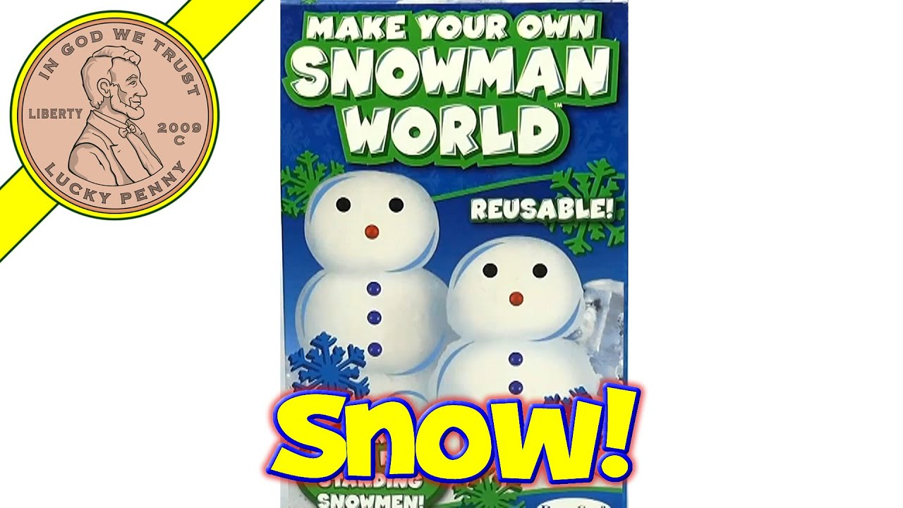 make your own snowman world make snowballs igloos u0026 more youtube