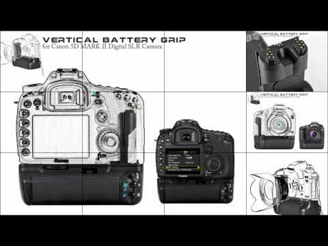 vertical-battery-grip-for-canon-5d-mark-ii-digital-slr-camera