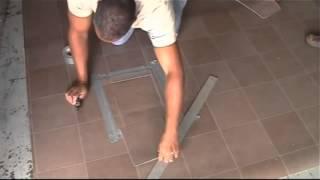 8 - Oprava poškodenej časti povlaku z PVC