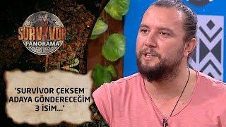 Survivor Panorama 72. Bölüm | İhsan Tarkan: 'Survivor çeksem adaya göndereceğim 3 isim...'