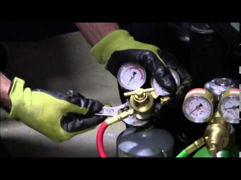 How To Setup A Oxy Acetylene Torch Set