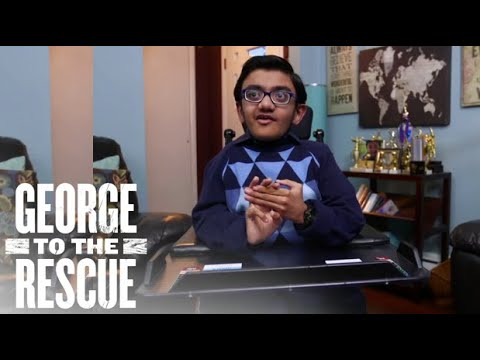 Surprise Renovation for Inspiring Musical Prodigy Sparsh Shah | George to the Rescue