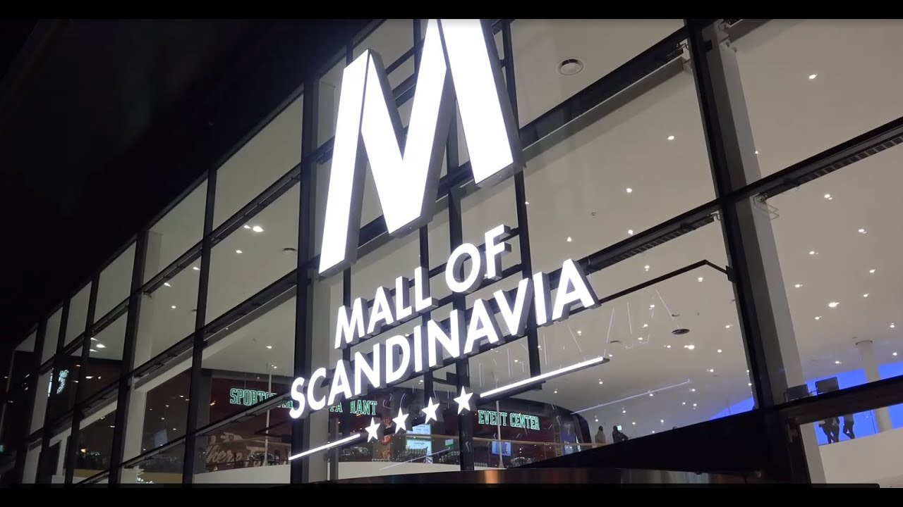 mall of scandinavia invigning