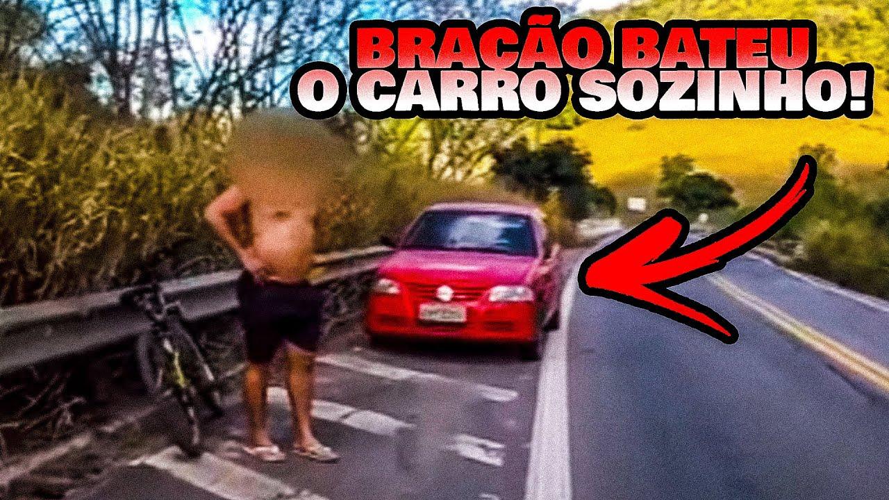 RECUPERAÇÃO DE CARRO FURTADO (O BRAÇÃO BATEU SOZINHO!)