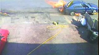 Murcroft  car fire