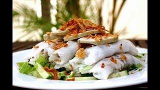 Cận Cảnh Làm Món Bánh Cuốn Ngon Nhất Việt Nam (Stuffed pancake Vietnam)