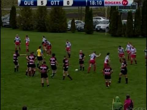 Ottawa Indians RFC vs. Club de rugby de Quebec 2011