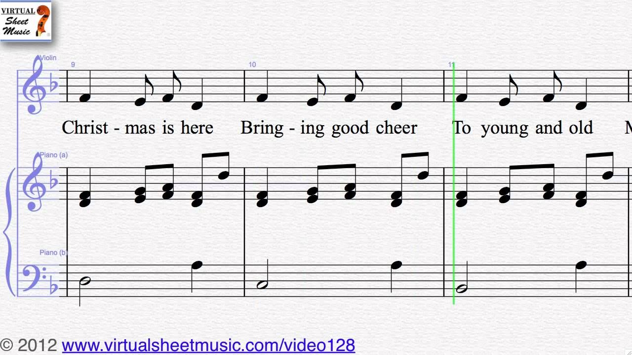 Carol of the Bells - Christmas Collections 1 violin and piano sheet ...
