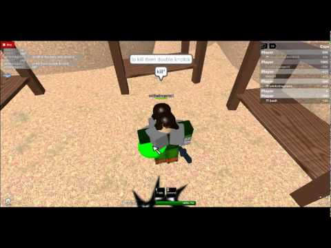 how to get grab knife in roblox