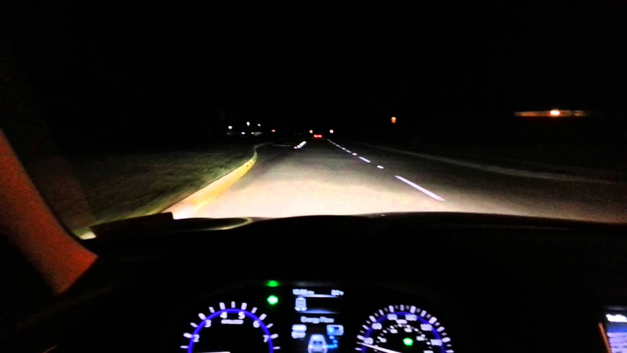 Infiniti Q50 Hybrid Sport Night Driving Youtube