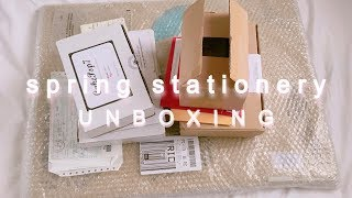 spring stationery haul | 2019