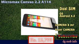 Micromax Canvas 2 2 A114 Features