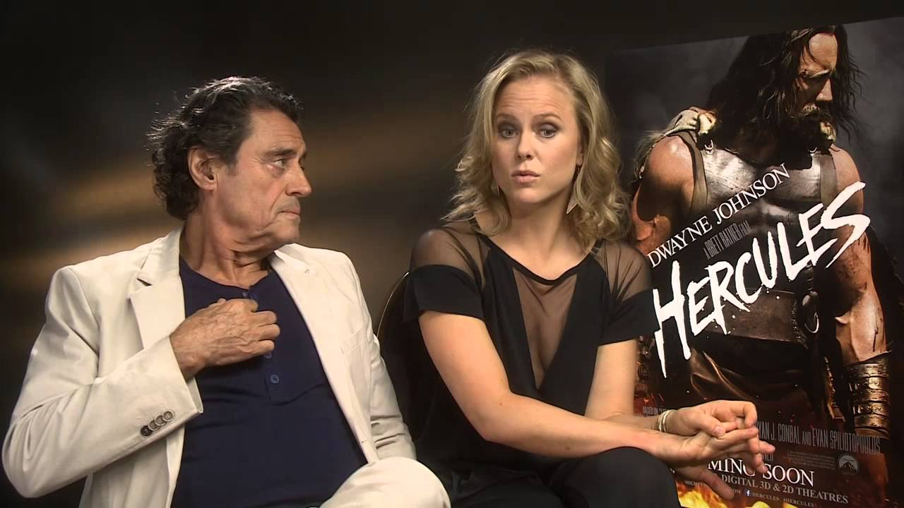 Video Interview With The Cast Of Hercules Youtube