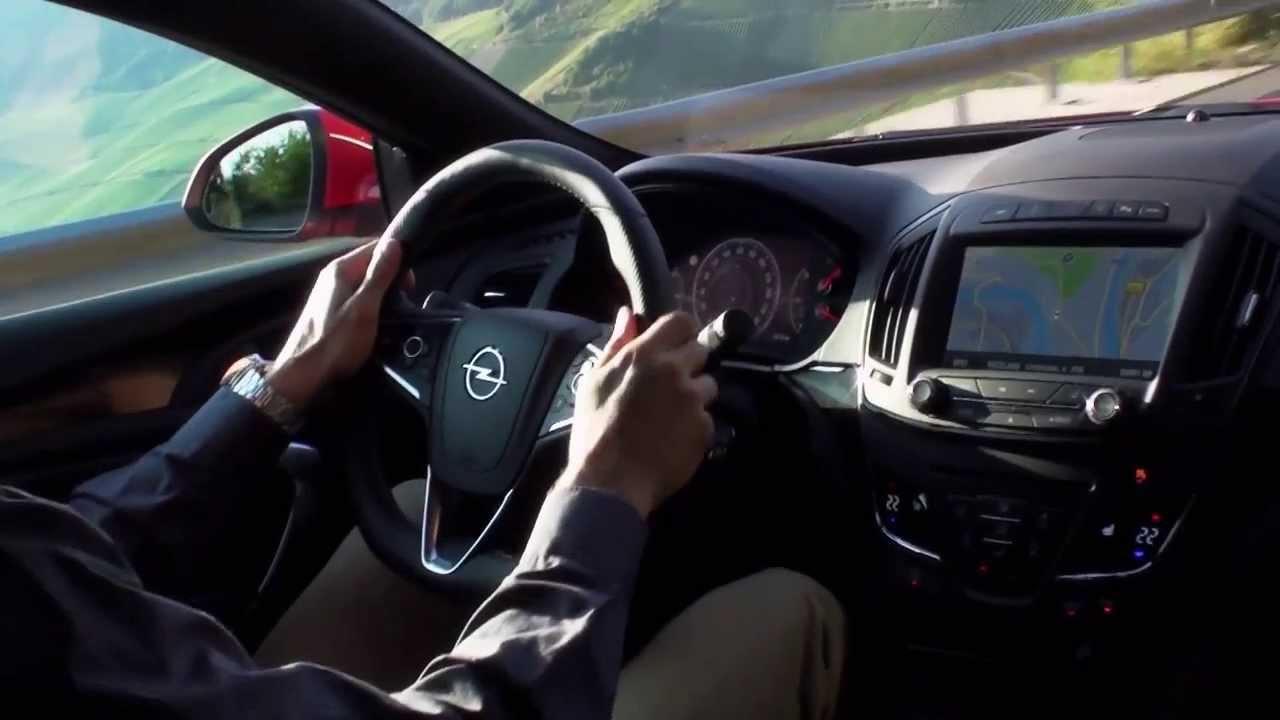 Opel Insignia OPC Facelift Interior | AutoMotoTV Deutsch - YouTube