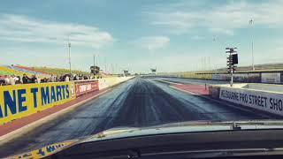 Форд Фалкон замку XR8 ручної 1/4 милі - 12.65 @ 115 миль в годину, 100% акцій