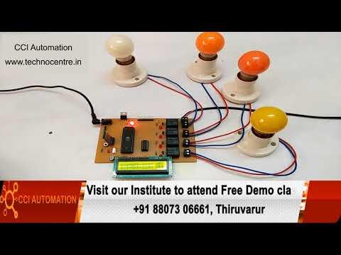 Embedded System 8051 PIC AVR ARM ARDUINO Robotics Courses Training in Thiruvarur