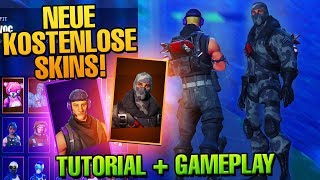 THIS EPIC FORTNITE SKINS FREE GET WITH TWITCH PRIME! (Tutorial + Gameplay)