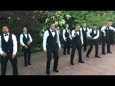 Fuca Groomsmen Dance