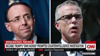 McCabe- Rod Rosenstein offered to wear a wire into White House