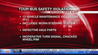 Records Of Tour Bus Company Involved In Deadly MS Crash Show Past Inspection Violations