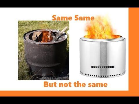 Smokeless fire pit DIY