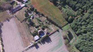 2016-09-25 - lot dronem we wsi Wroninko koło Płońska - Polish village by drone