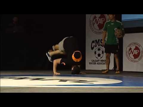 Memo vs Balchi Semifinal North American Freestyle Soccer Championship 2014