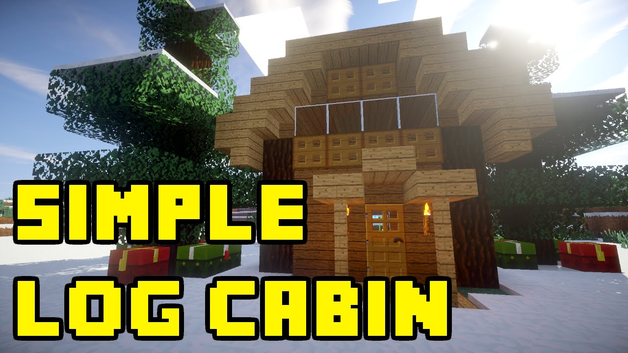 Log cabin in the woods winter - Minecraft Simple Log Cabin In Snow Woods Tutorial Xbox Pe Pc Ps3 Ps4 Youtube