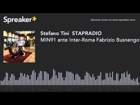 MIN91 ante Inter-Roma Fabrizio Busnengo