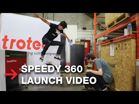 Speedy 360 flexx Canada Launch | Trotec Laser