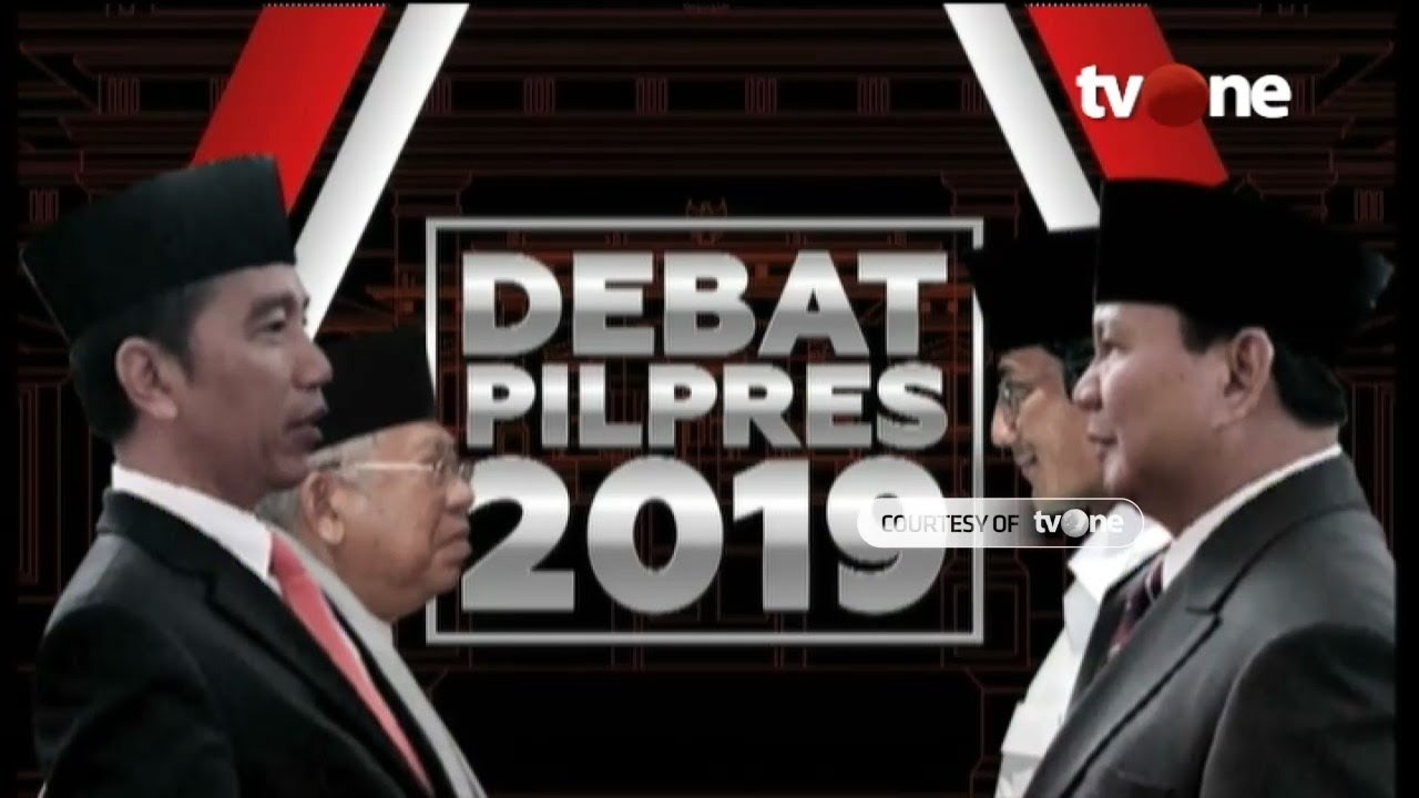 [FULL] Debat Capres dan Cawapres Pilpres 2019
