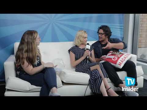 The 100 Bob Morley And Eliza Taylor TV InSider Comic Con 2018
