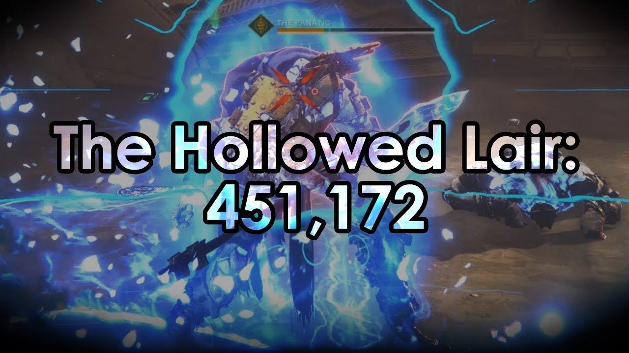 Destiny 2: The Hollowed Lair Nightfall - 451,172 High Score