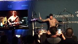 Travis Barker TelePresence Concert with Producer John Feldmann