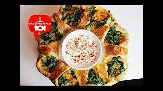 5 Çay Saaterinde ideal Ispanakli, Patatesli Börek Tarifi - Gülsümün Sarayi