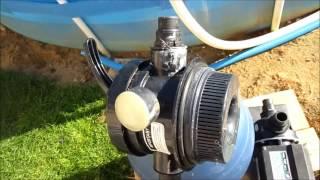 Montage pompe de filtration piscine