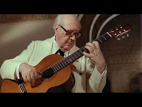 Leyenda by Albeniz in HD  - Andres Segovia [Best of Veojam.com]