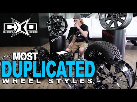 The Most Duplicated Wheel Styles in the Truck Market