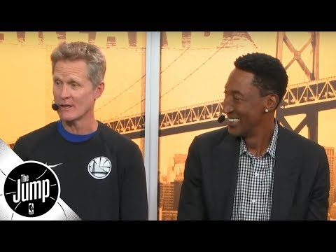 Steve Kerr and Scottie Pippen reminisce on Phil Jacksons unique film session tactics | The Jump