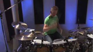 "Finger Eleven ""Paralyzer"" Drum Cover By Jared Falk"