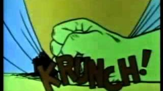 Incredible Hulk Theme Song Animated Series  - 1966