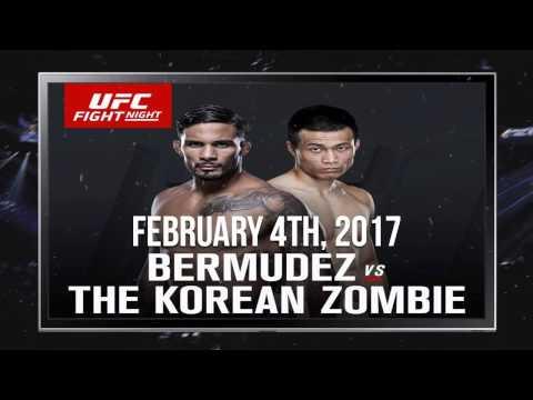 UFC Fight Night 104  Bermudez vs Korean Zombie   Feb 4, 2017   Fight Preview Odds & Picks