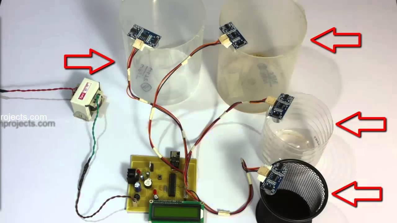 Iot Garbage Monitoring System Youtube