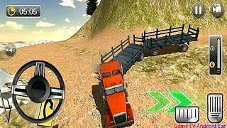 USA Truck Driving School: Off-road Transport Games #2 - Android GamePlay
