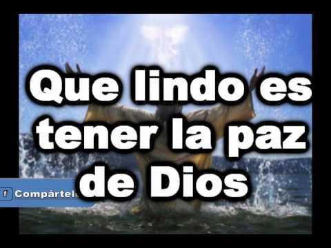 Que Lindo es tener la Paz de Dios (Pista_Roberto Orellana)|2,014-2,015