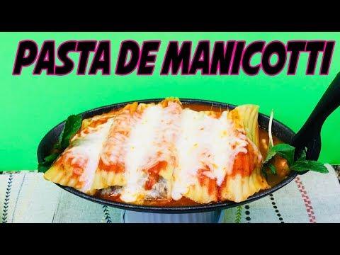 Pasta de Manicotti