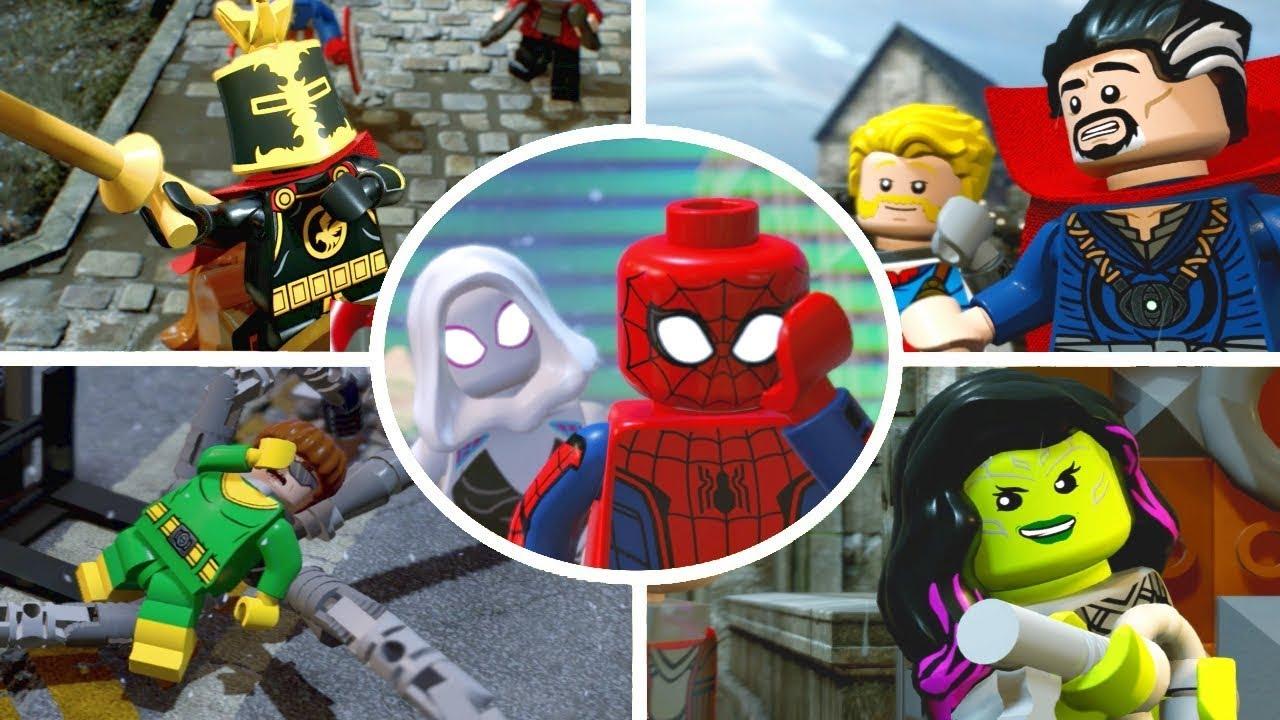 marvel lego game help