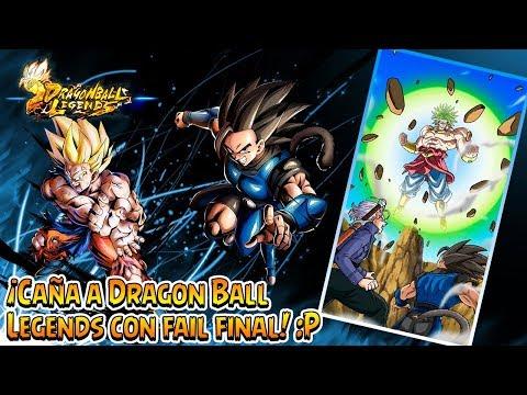 Caña a Dragon Ball Legends con fail final... que no falten :P | Free-to-play Android