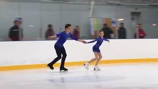 Первенство России в парном катании танц Парное катание KMC Произвольная программа 4 Т КУЗЬМИНА